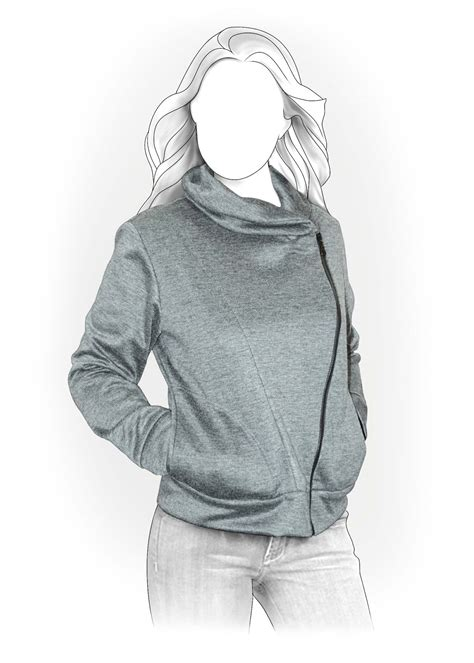 sweatshirt pattern free sweatshirt sewing pattern 4011 made to measure sewing