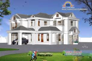 sweet home 3d exterior design indian style home 3d renderings kerala home design and