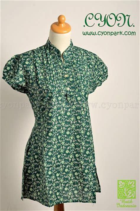 Dress Mini Blue Brown Qiranasa Mini Dress Biru Coklat Pita Qiran batik cantik collections butik shop tas pesta belt wanita cyonpark