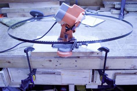 bandsaw blade sharpening diy page  woodworking talk