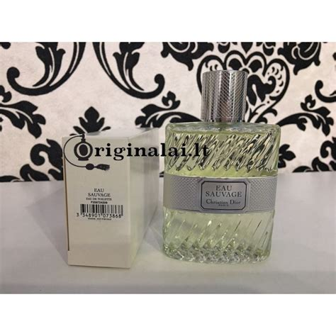 Eau Sauvage For Edt 100ml Tester christian eau sauvage vyri紂ki kvepalai edt 100ml