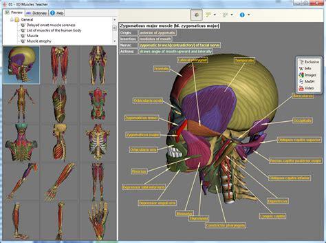 best anatomy software 3d muscles 3d human anatomy software