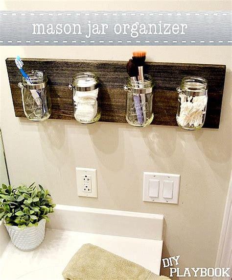 idea organizer 11 fantastic small bathroom organizing ideas jars