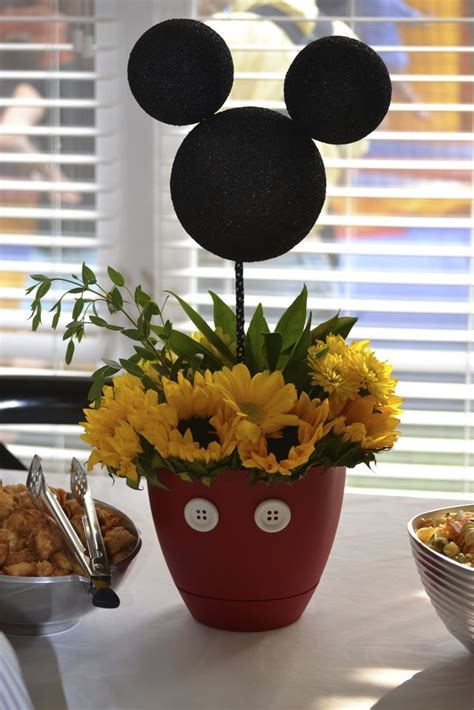 Mickey Centerpiece Mickey Mouse Party Pinterest Centerpieces For Mickey Mouse Birthday