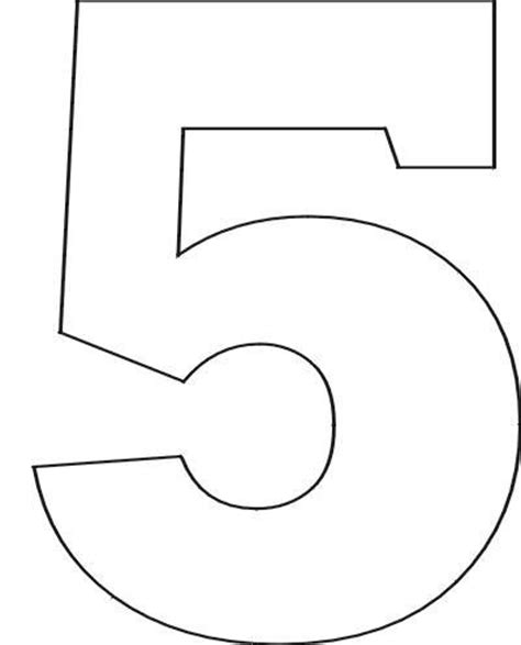 free printable number stencils for painting free printable number stencils printables fonts
