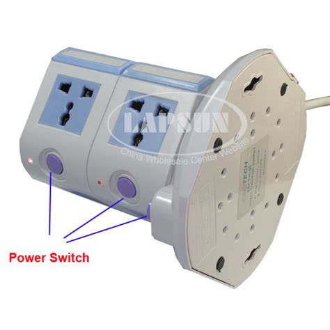 Ls With Electrical Outlets by 7 Ways Power Multi Switched Vertical Socket Outlet