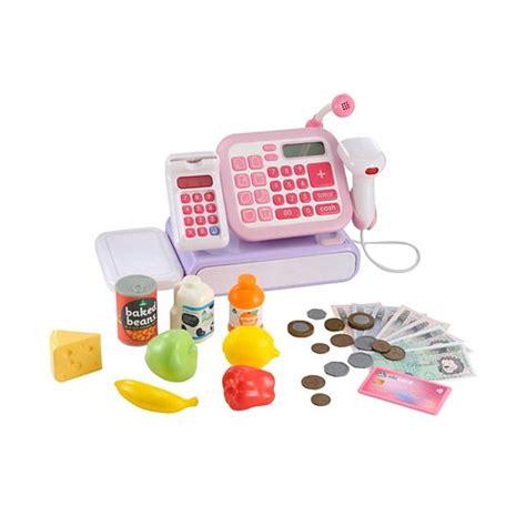 blibli register jual elc 142529 cash register mainan anak pink online