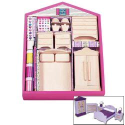 paint your own dolls house paint your own doll house bedroom furniture
