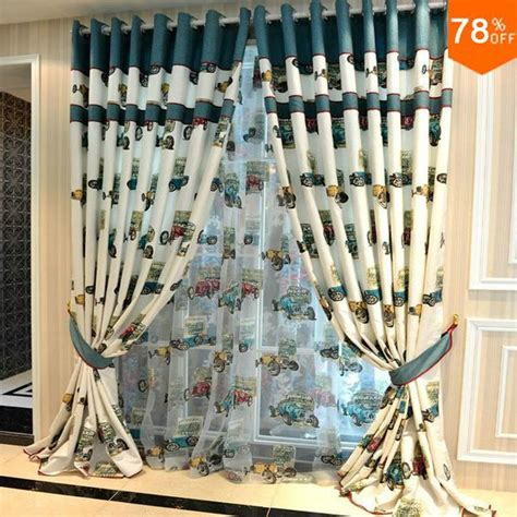 cer curtains for sale aliexpress com buy lovely toy car curtain classical