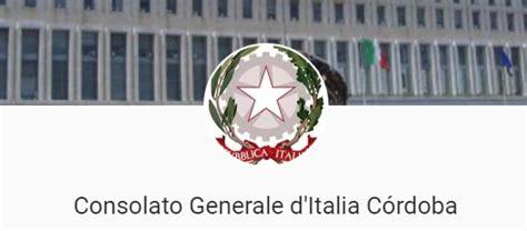 consolato italiano in argentina istituto di cultura cordoba