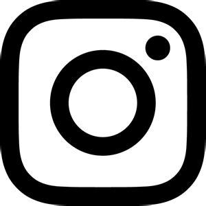 instagram   glyph logo vector eps