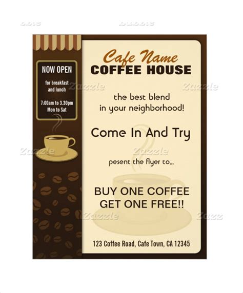 coffee menu template free 20 coffee menu templates free sle exle format