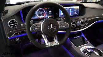 inside the new mercedes s class 2018 review interior