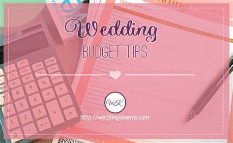 Wedding Budget Kenya by 5 Tips To Help You Plan Your Wedding On A Budget Inspire