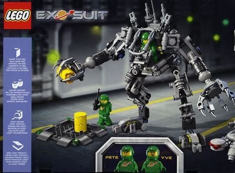Lego Ideas 21109 Exo Suit lego 21109 finally the exo suit official images i