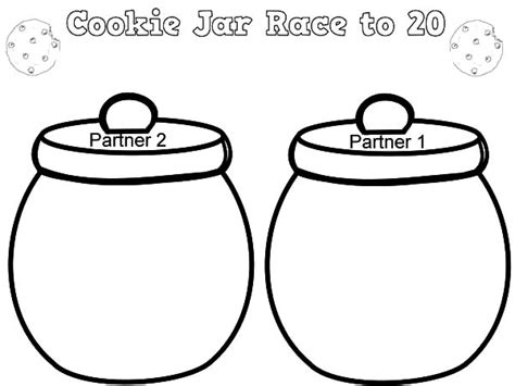 how to color jars cookie eat cookies from cookie jar coloring pages