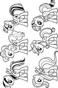 Guarda Tutti I Disegni Da Colorare Di My Little Pony Www  sketch template