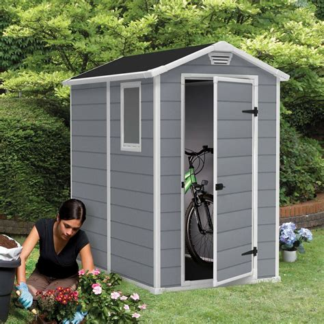 garden storage shed outdoor building backyard keter