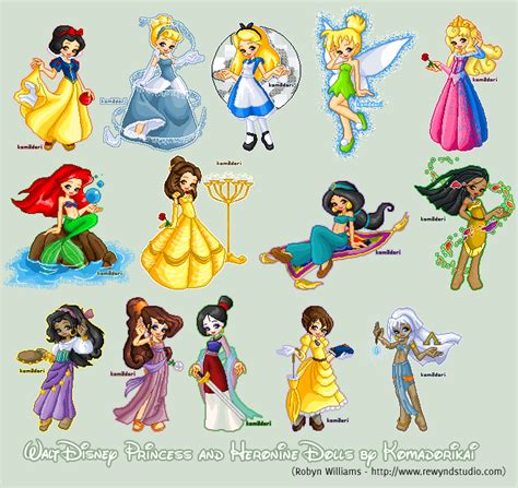 disney princesses les 2013237219 disney princesses heroines by bytesizetreasure on