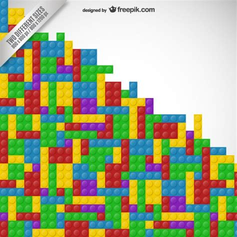 lego pattern ai lego background vector free download