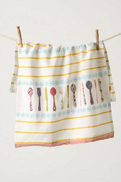 Kitchen Towels Anthropologie Frukost Dishtowel Flatware Anthropologie Things I M