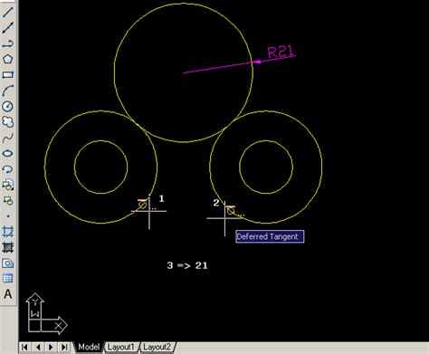autocad 2007 tutorial na srpskom autocad primjer 2d crteža tangenta na kružnicu