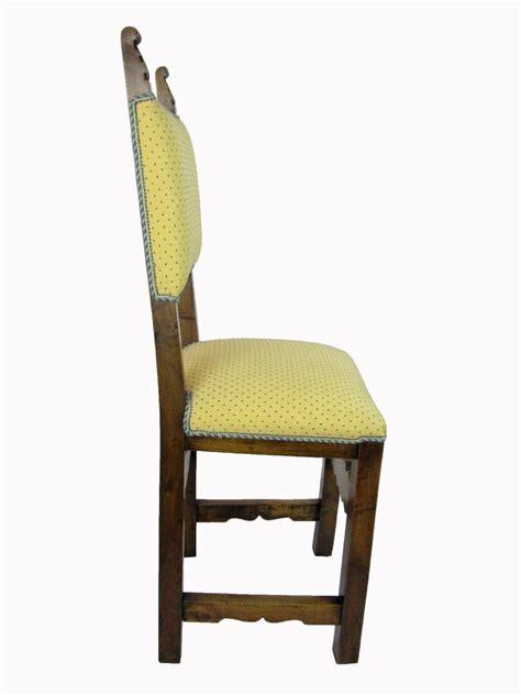 sedie antiche in legno sei sedie antiche in legno intagliato dell inizio 1900 in