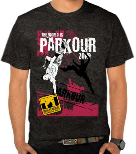 Kaos World Traveler 5 jual kaos parkour zone casual satubaju