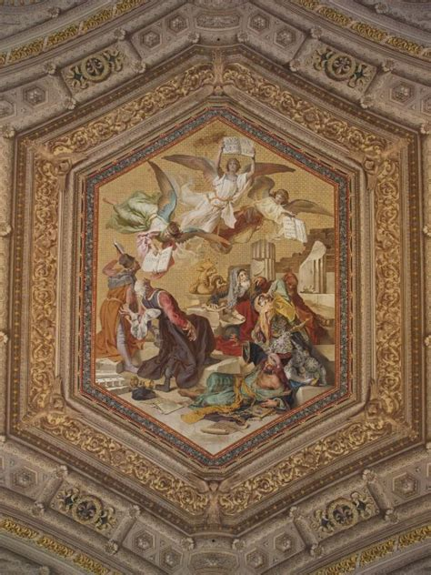 Vatican Museum Ceiling Paintings by Vatican City Vatican Museum Ceiling Painting