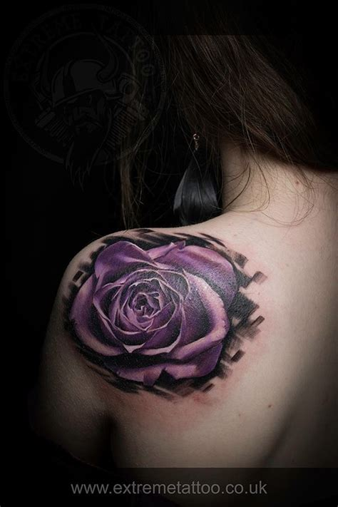 purple rose tattoo paola ks best 25 purple tattoos ideas on purple