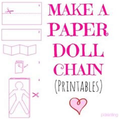 How To Make A Paper Doll Chain - mermaid paper doll chain i paper dolls ii