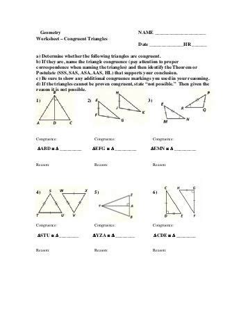 congruent triangles worksheet with answer cognitive triangle worksheet feeling thinking doing