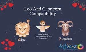 leo and capricorn compatibility amor amargo 2017