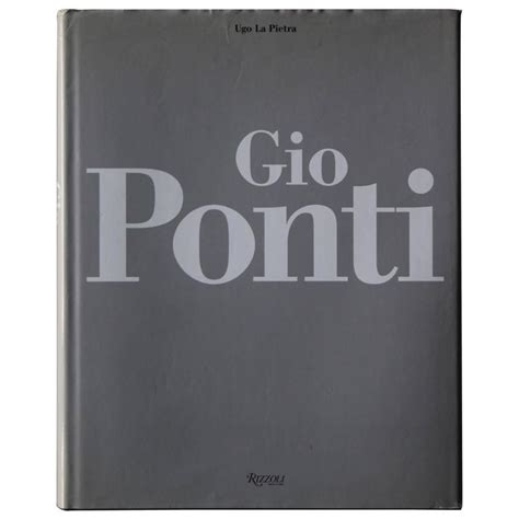 gio books gio ponti book for sale at 1stdibs
