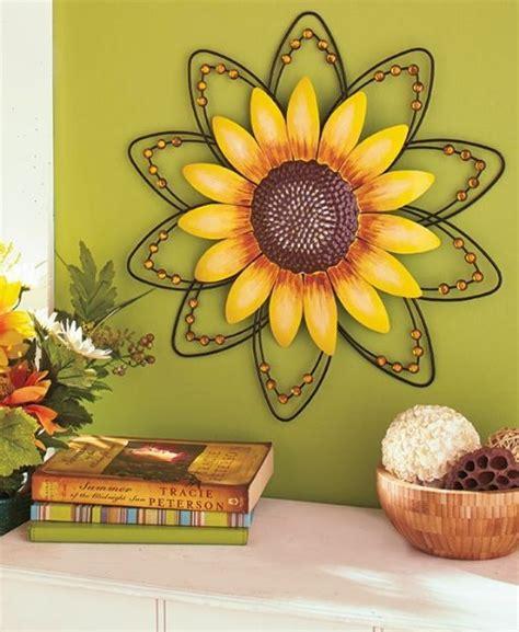 sunflower wall decor sunflower wall 3d metal wire wall hanging sculpture