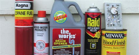 hazardous household products hazardous products tippecanoe county solid waste