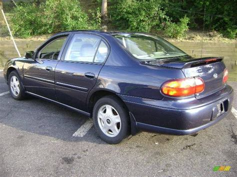navy blue and white ls 2001 navy blue metallic chevrolet malibu ls sedan
