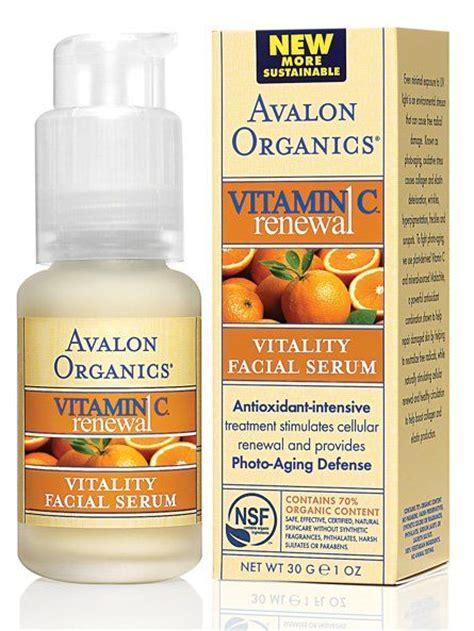 Serum Vitamin C Rossa avalon organics botanicals vitamin c vitality serum