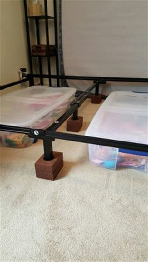 bed risers with outlets 1000 ideas about bed risers on pinterest diy bed beds