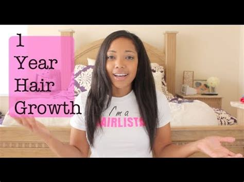 pics of hair growth in 1 year 1 year hair growth youtube