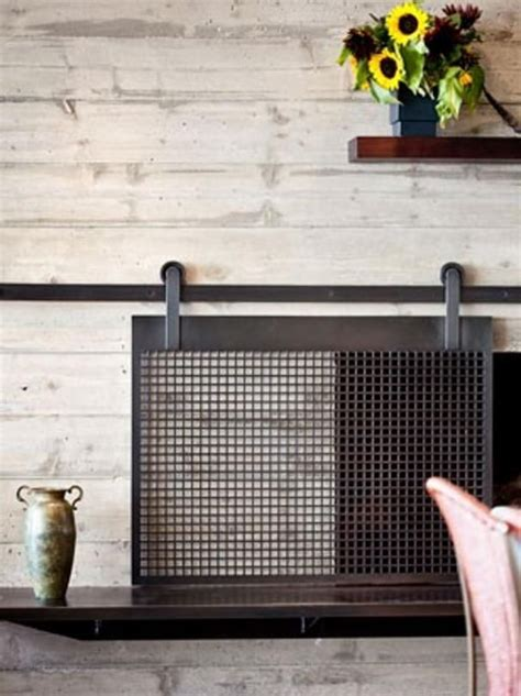fire place cover visualizing the fireplace makeover