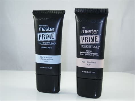 Makeup Primer Maybelline maybelline master prime primer review swatches musings