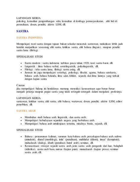 Pembelajaran Bahasa Indonesia Di Perguruan Tinggi deskripsi jurusan perguruan tinggi di indonesia