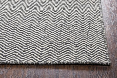 white wool rugs twist basic chevron wool area rug in black white 9 x 12