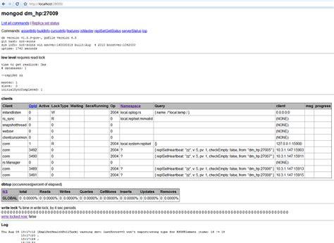 mongodb console mongodb常用命令 silentjesse 博客园