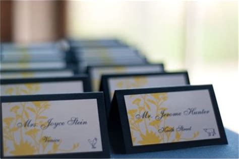 how to diy wedding place cards entree choices on place cards weddings planning