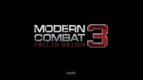 modern combat 3 apk modern combat 3 apk version
