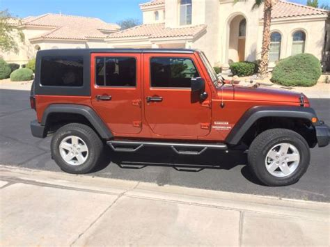 2007 jeep wrangler unlimited for sale 2007 jeep wrangler unlimited x for sale in scottsdale az