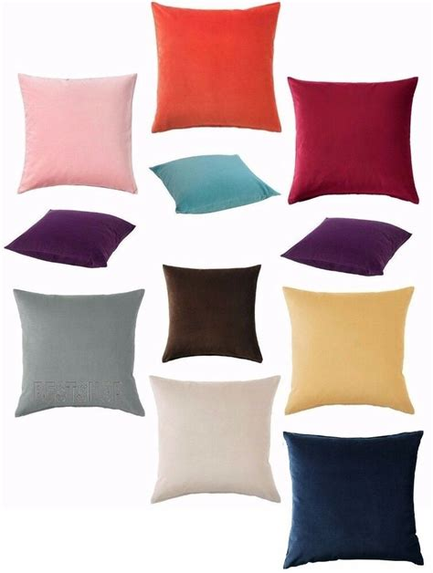 Ikea Cushion Covers by New Ikea Sanela Cotton Velvet Cushion Cover Soft To Touch