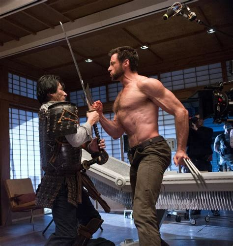 Out On Set by Let S Discuss The The Wolverine Trailer The Beat